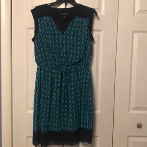 Dresses & Skirts - Blue and Green dress